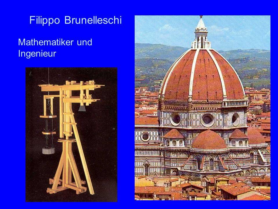 Filippo Brunelleschi Mathematiker und Ingenieur