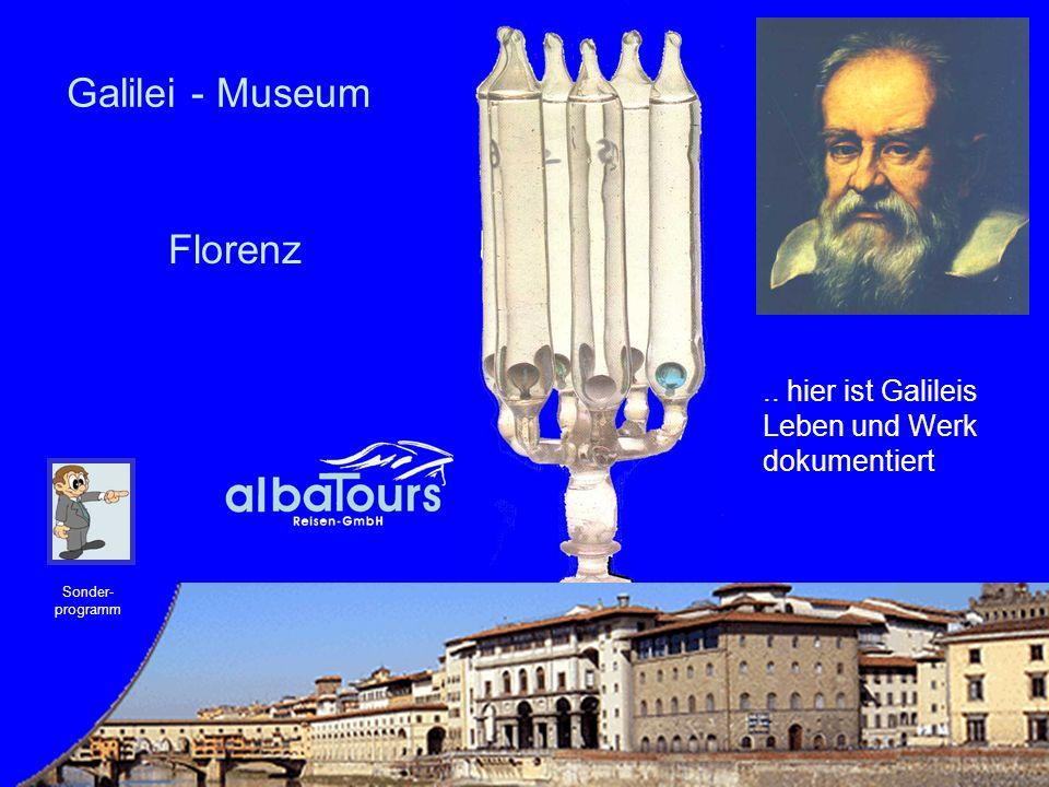 Galilei - Museum Florenz