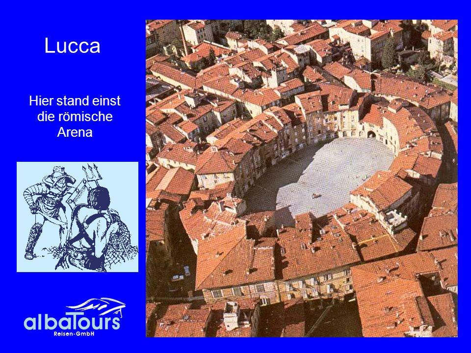 Hier stand einst die römische Arena