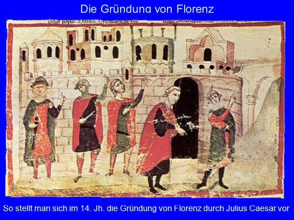 Die Gründung von Florenz