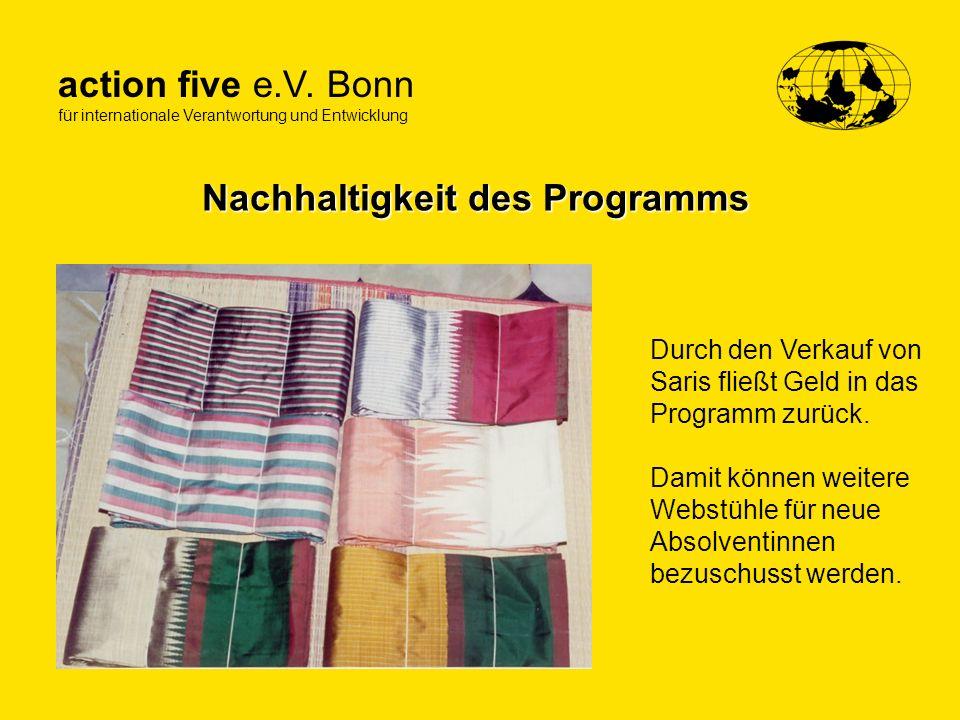 Nachhaltigkeit des Programms