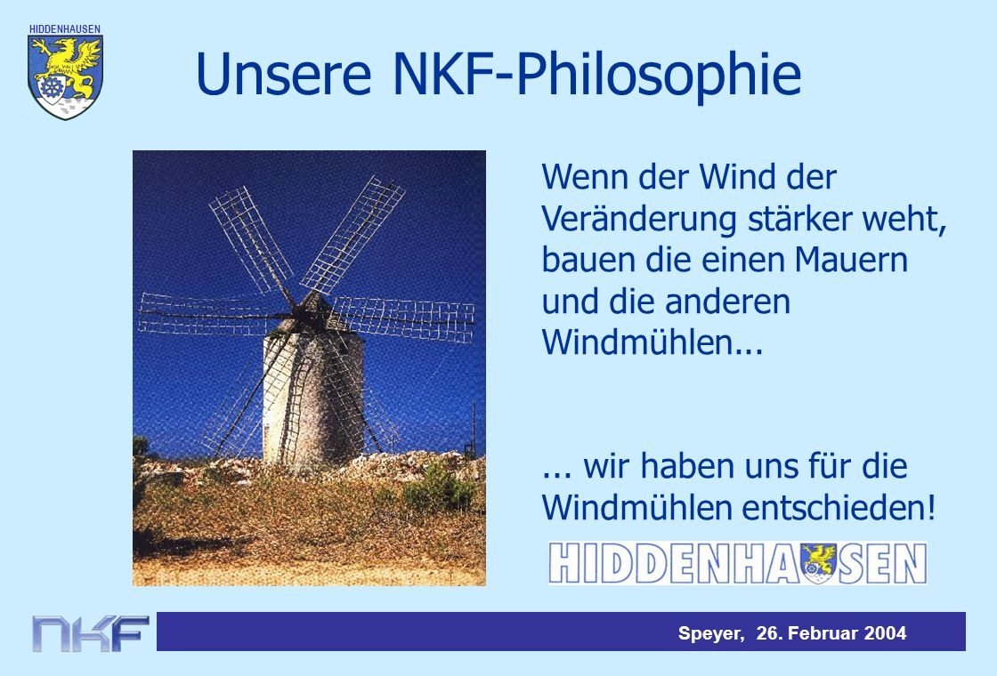 Unsere NKF-Philosophie