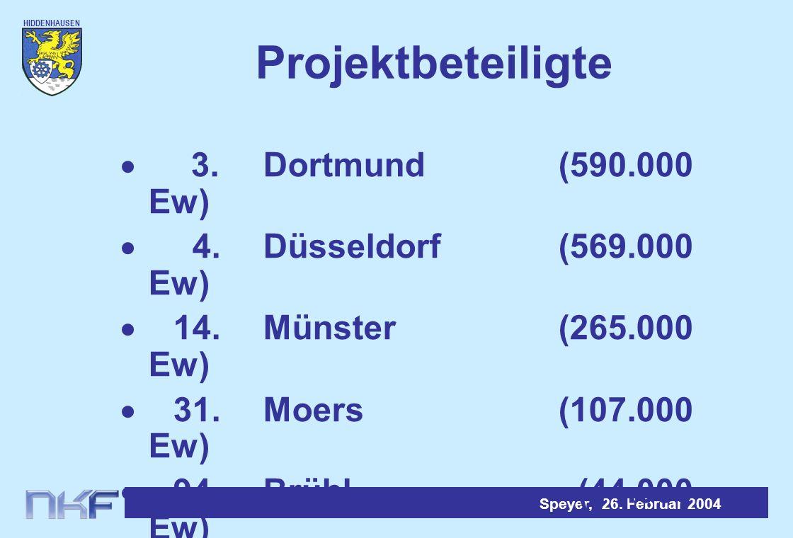 Projektbeteiligte · 3. Dortmund (590.000 Ew)