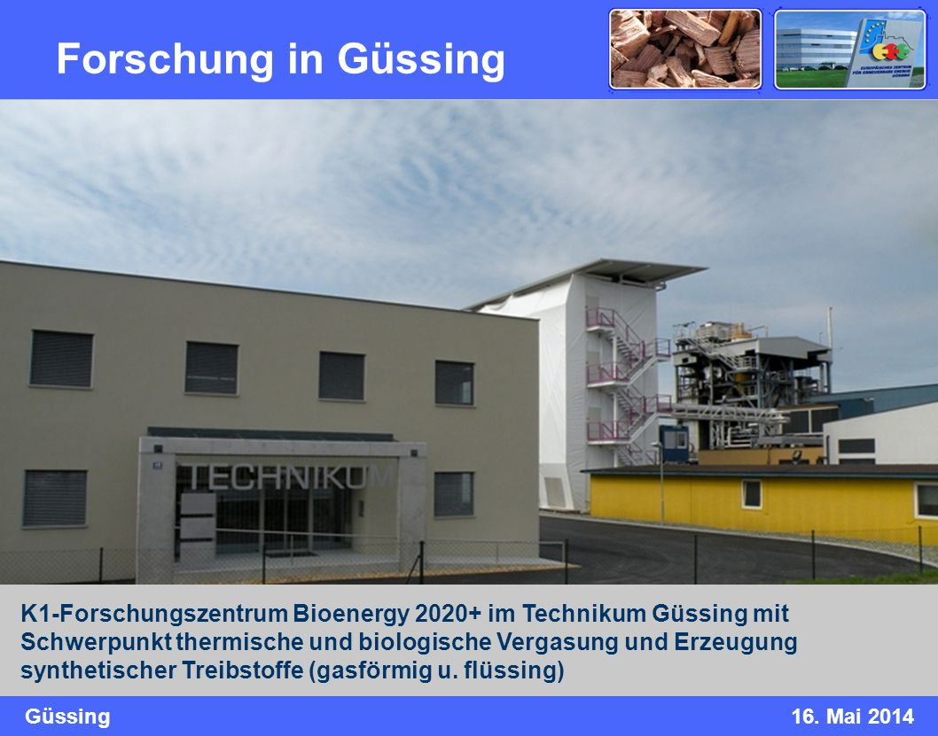 Forschung in Güssing