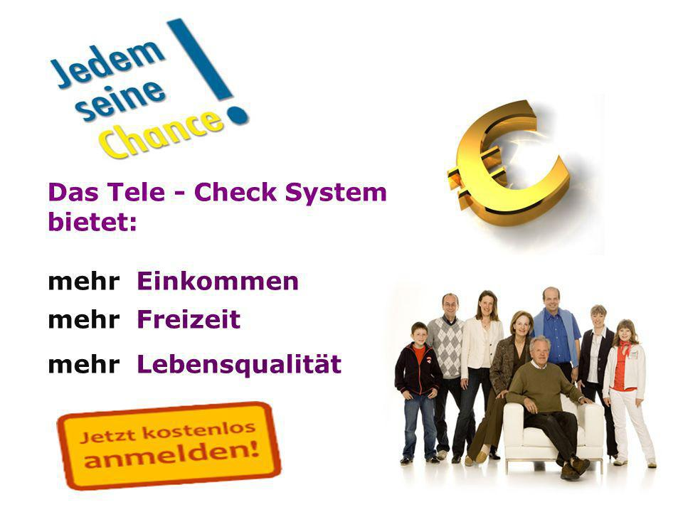 Das Tele - Check System bietet: