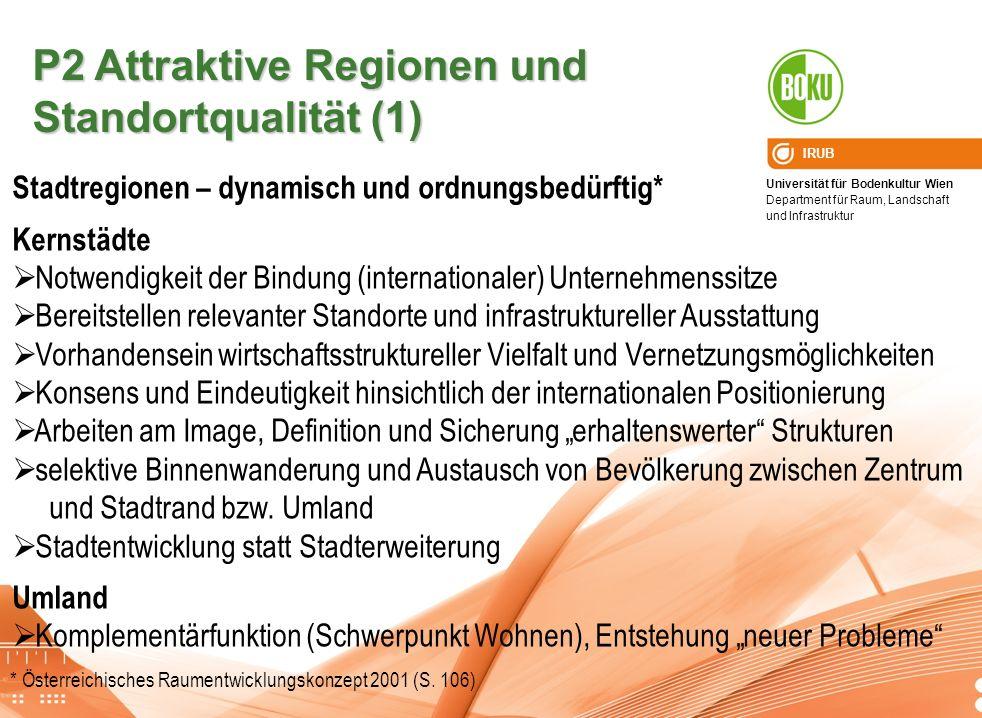 P2 Attraktive Regionen und Standortqualität (1)