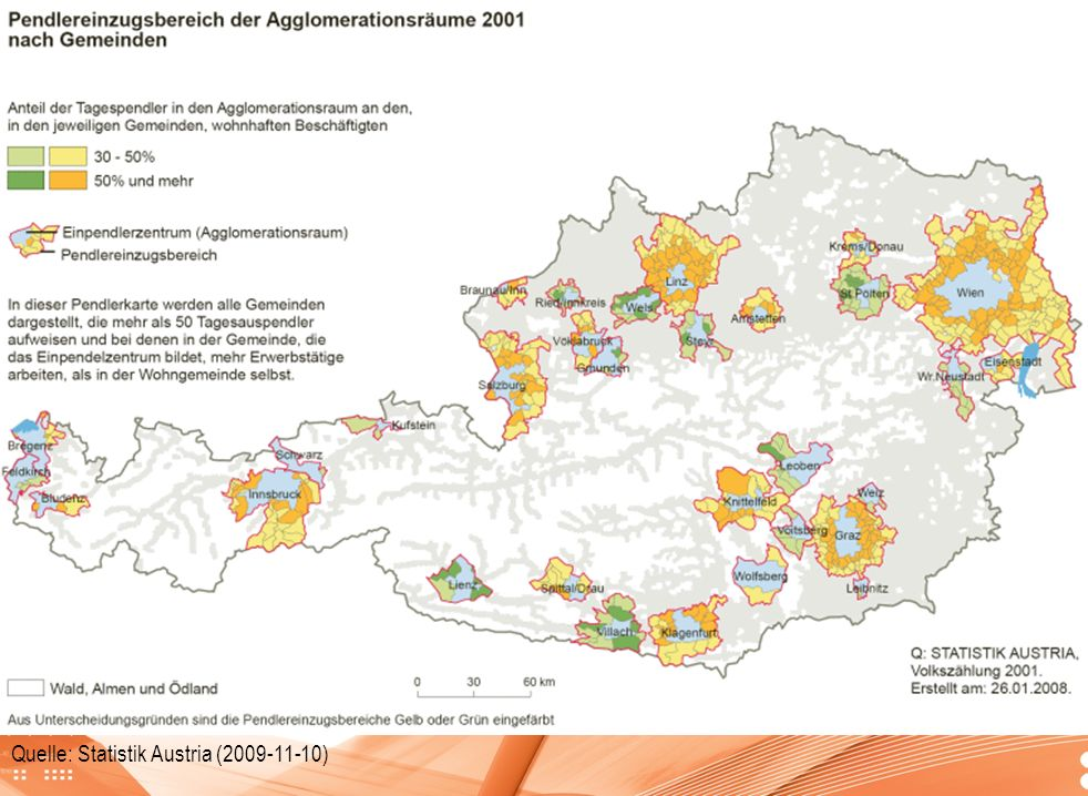 Quelle: Statistik Austria (2009-11-10)