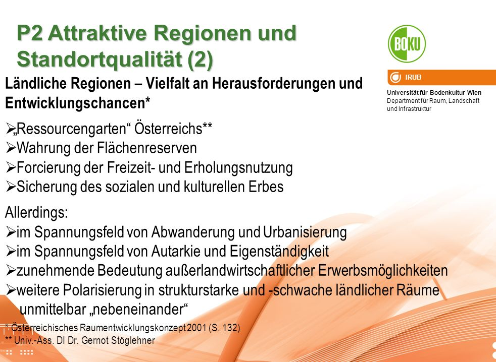 P2 Attraktive Regionen und Standortqualität (2)