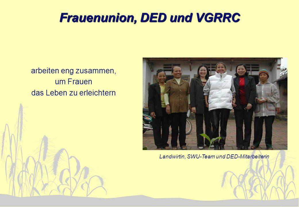 Frauenunion, DED und VGRRC