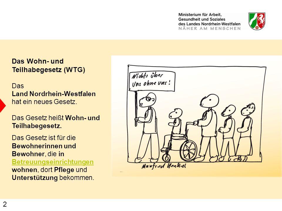 Das Wohn- und Teilhabegesetz (WTG)