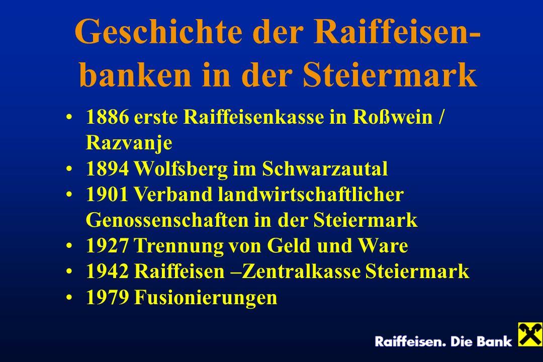 Geschichte der Raiffeisen-banken in der Steiermark