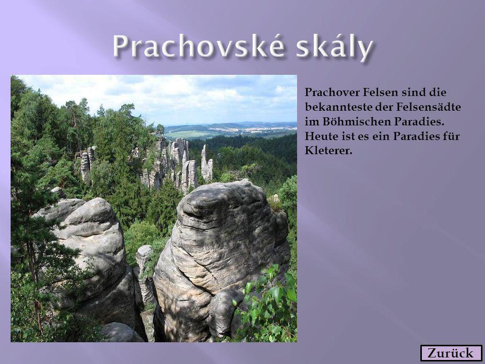 Prachovské skály Zurück