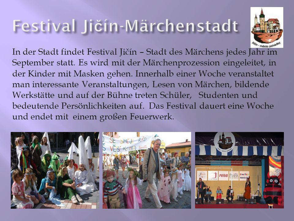 Festival Jičín-Märchenstadt