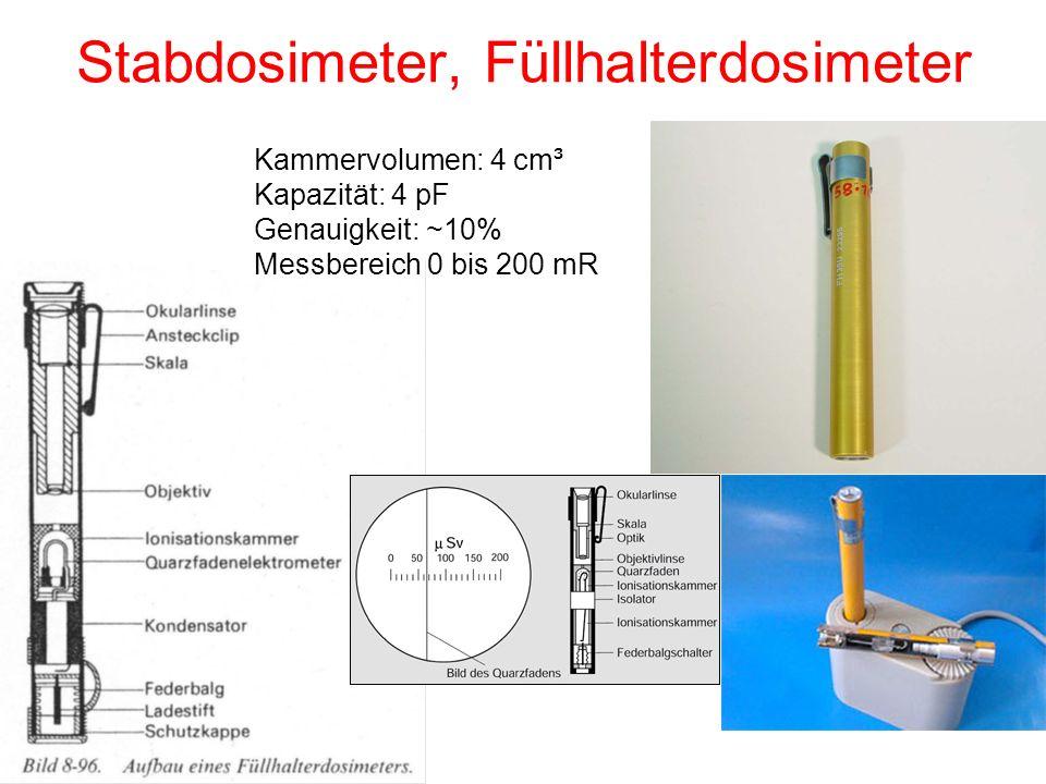 Stabdosimeter, Füllhalterdosimeter