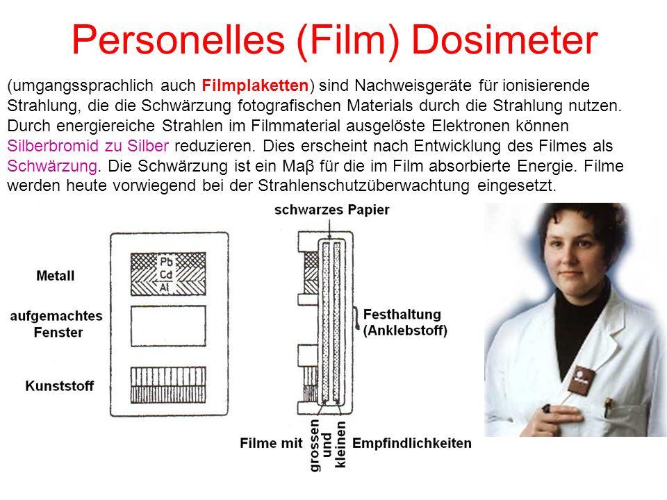 Personelles (Film) Dosimeter