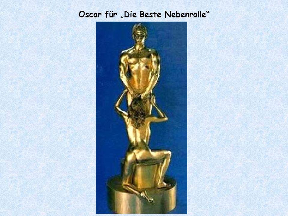 """Oscar für """"Die Beste Nebenrolle"""