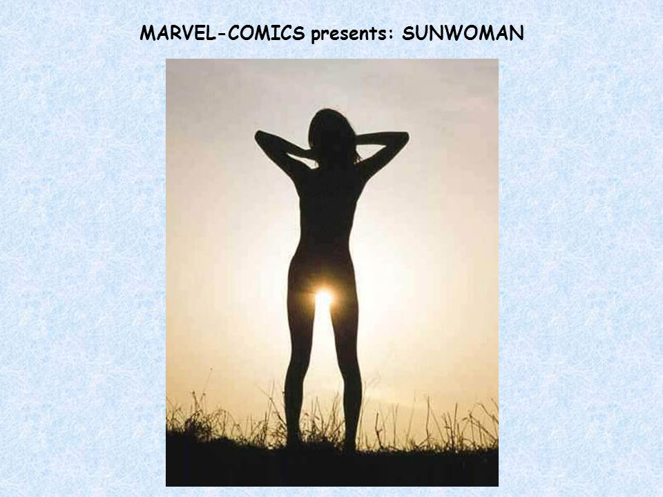 MARVEL-COMICS presents: SUNWOMAN