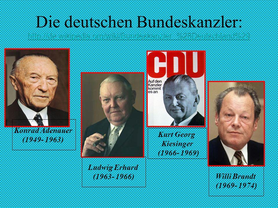 Kurt Georg Kiesinger (1966- 1969)
