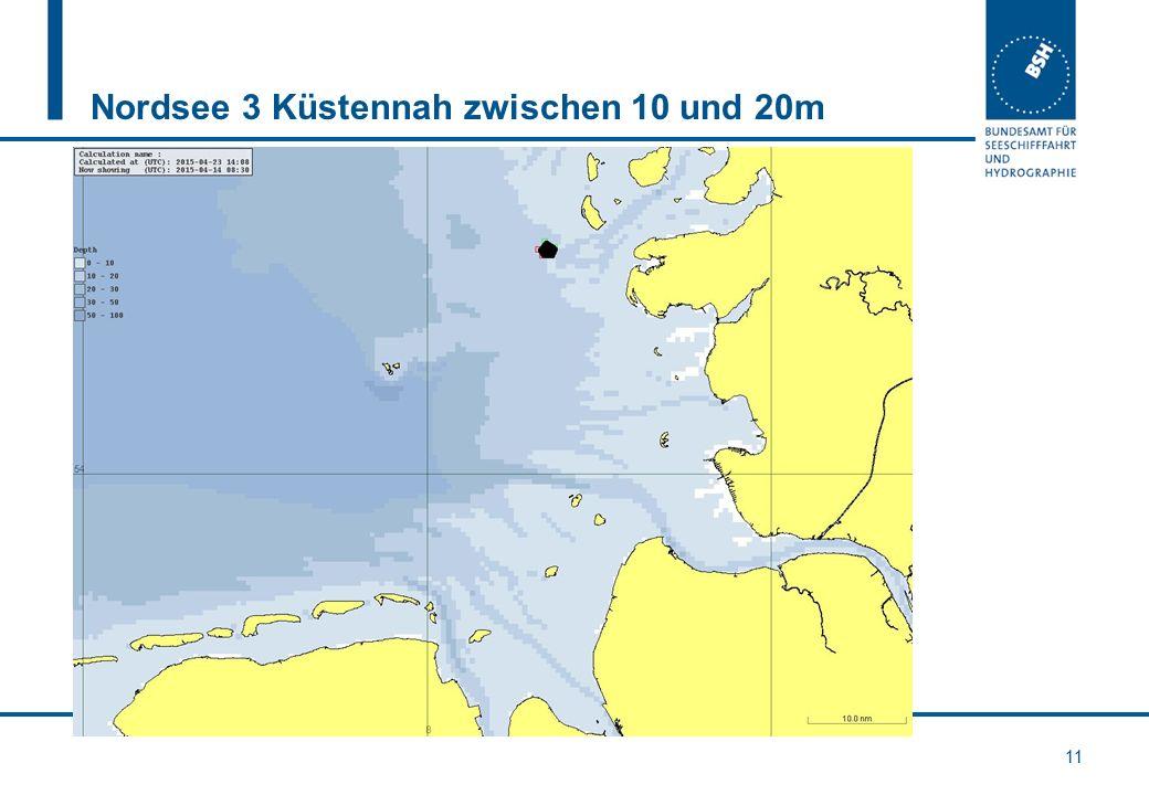 Nordsee 3 Küstennah zwischen 10 und 20m