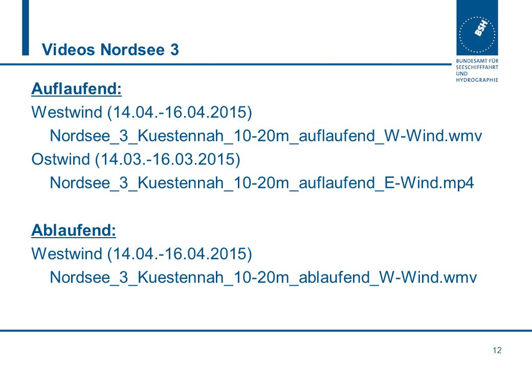 Videos Nordsee 3