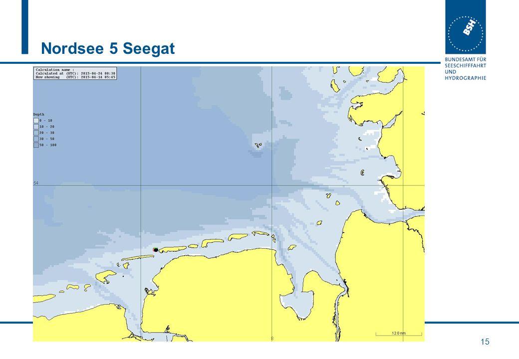 Nordsee 5 Seegat