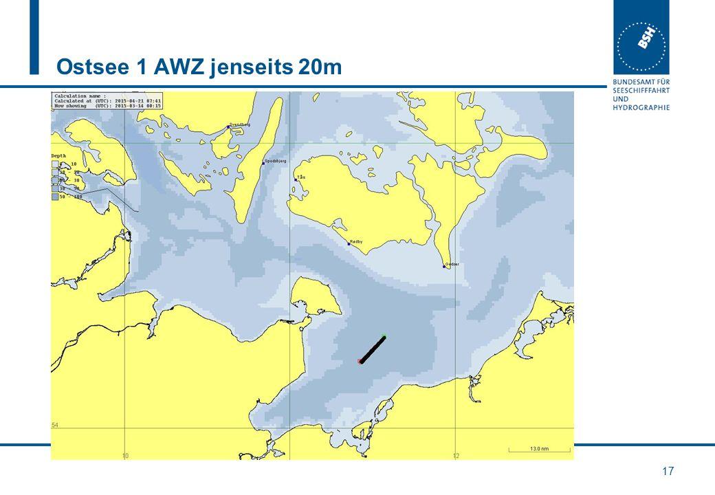 Ostsee 1 AWZ jenseits 20m