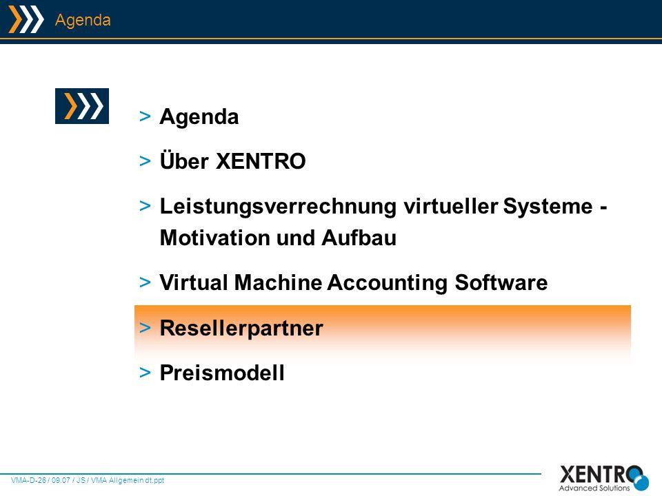 Leistungsverrechnung virtueller Systeme - Motivation und Aufbau