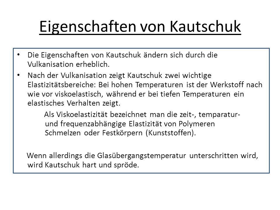 Eigenschaften von Kautschuk