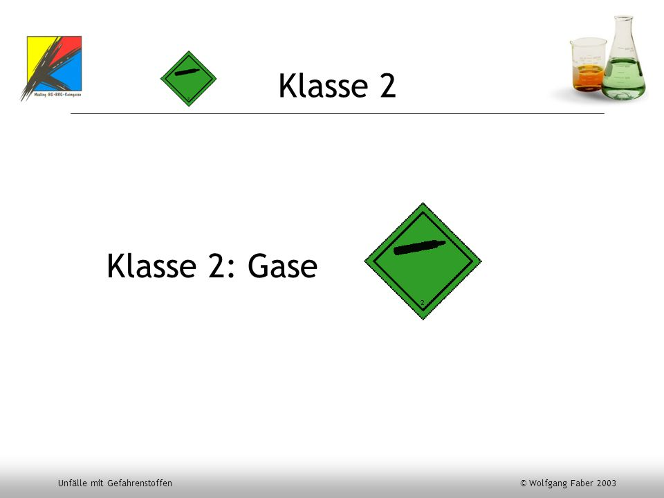 Klasse 2 Klasse 2: Gase