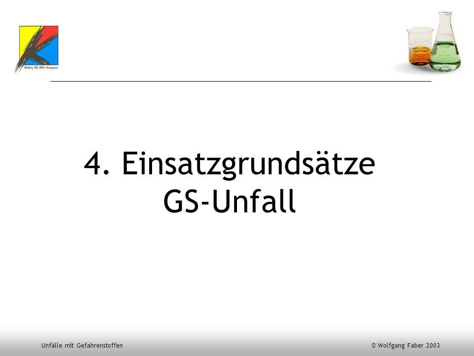 4. Einsatzgrundsätze GS-Unfall