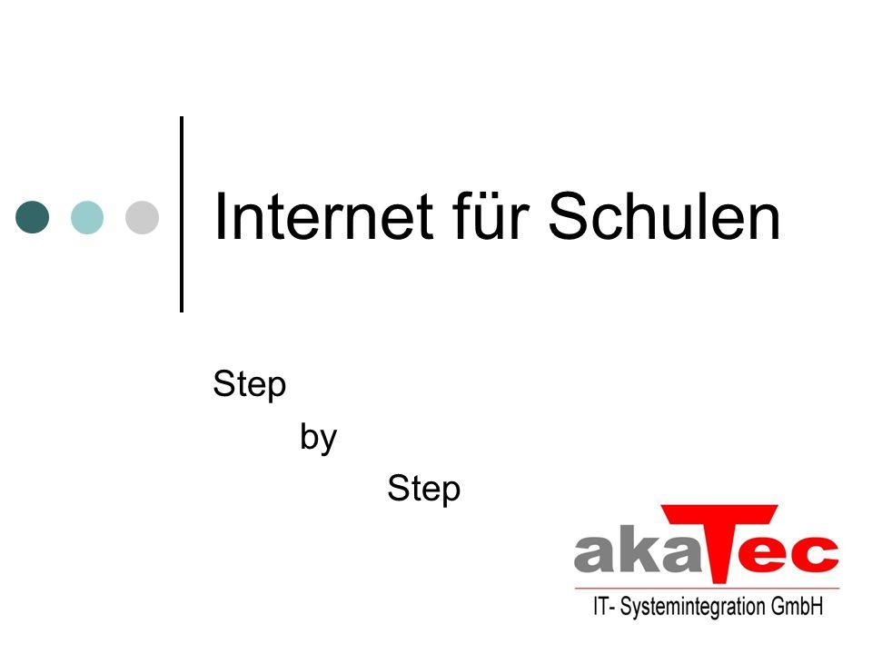 Internet für Schulen Step by