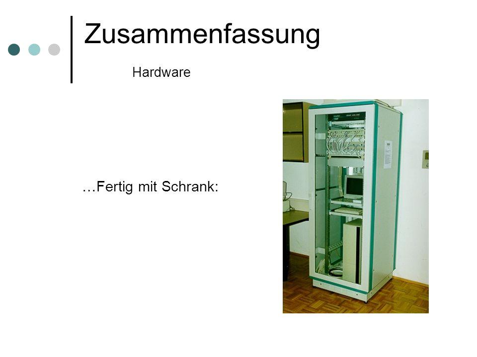 Zusammenfassung Hardware