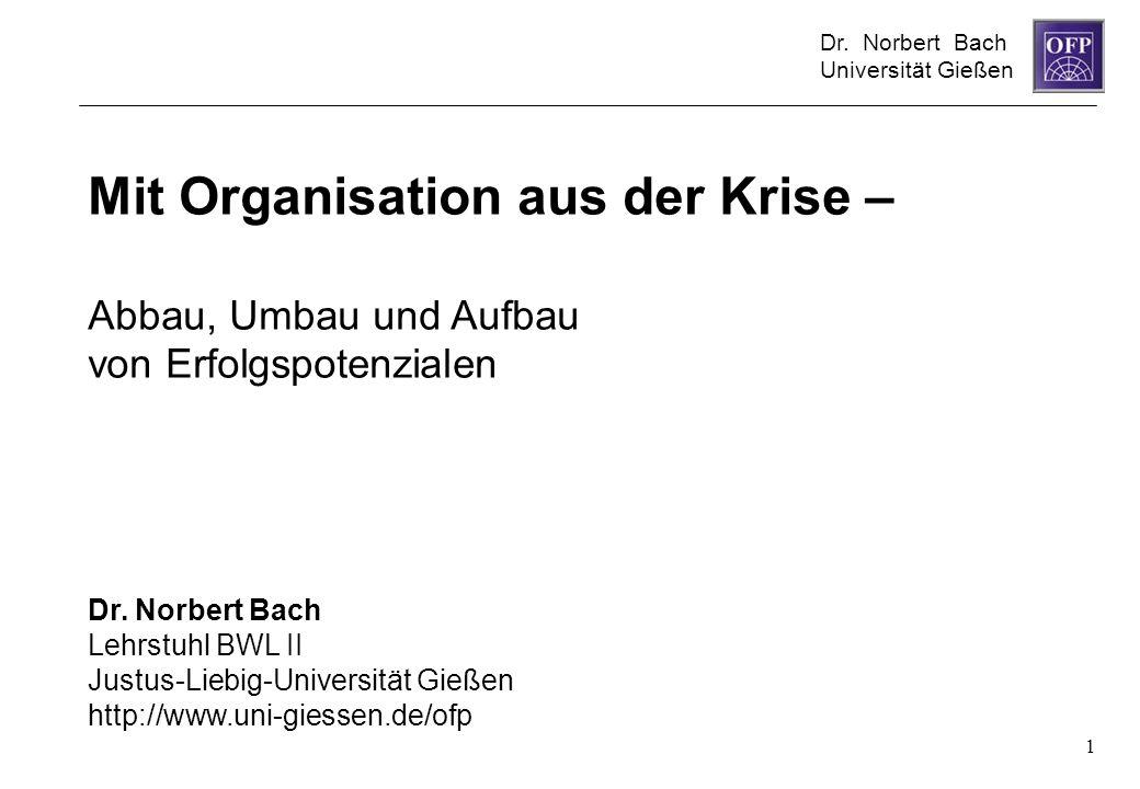 Mit Organisation aus der Krise –