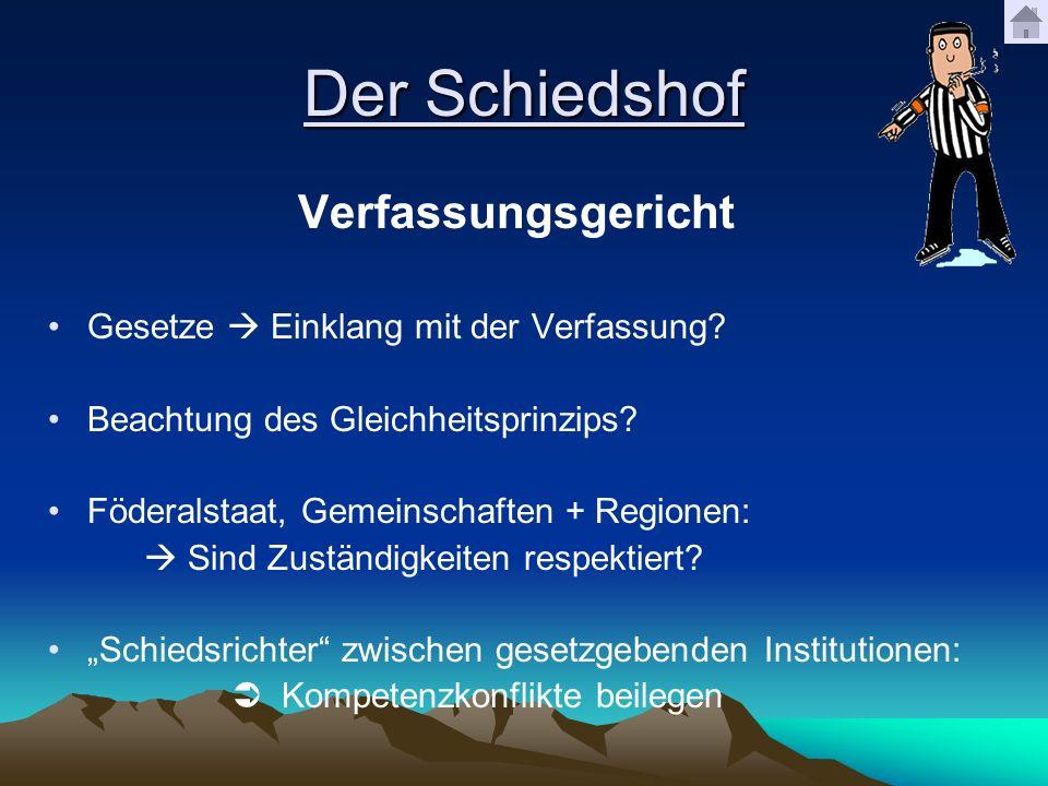 Der Schiedshof Verfassungsgericht