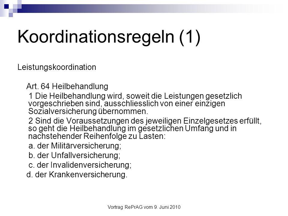 Koordinationsregeln (1)