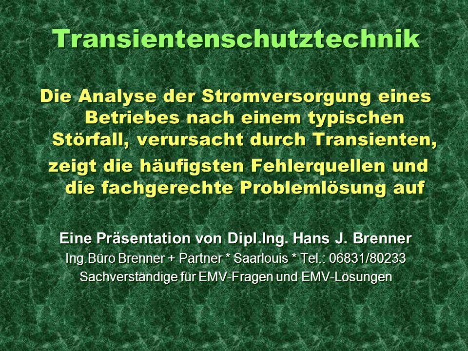 Eine Präsentation von Dipl.Ing. Hans J. Brenner