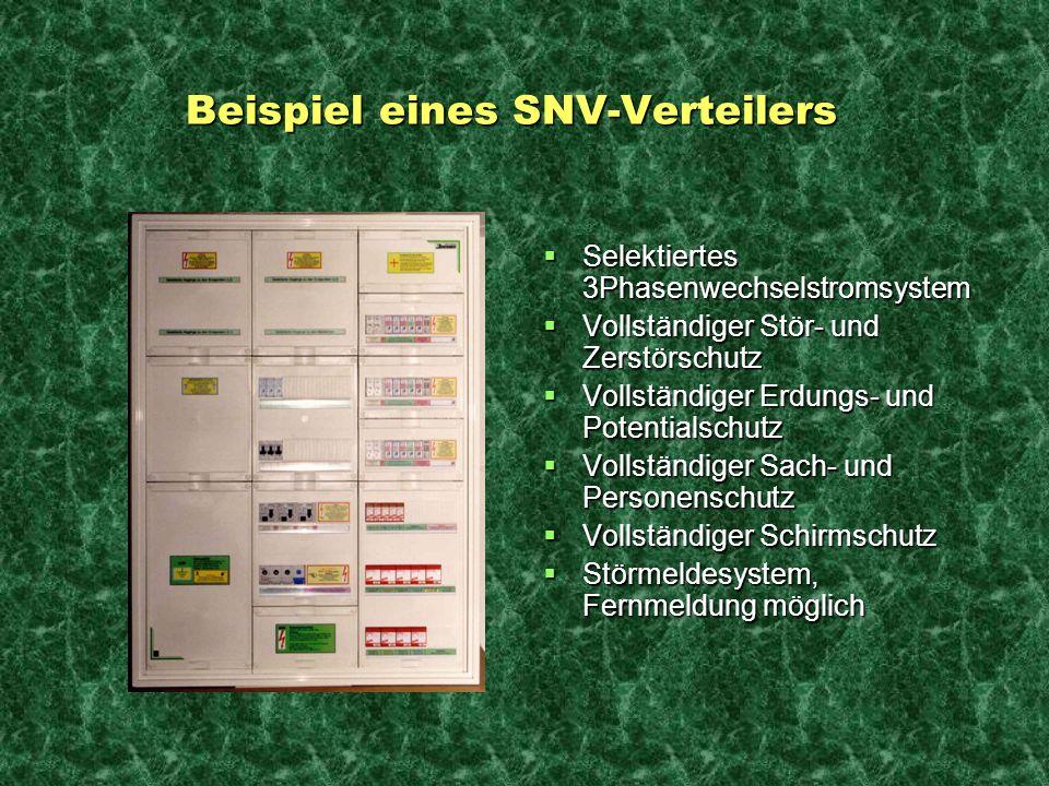 Beispiel eines SNV-Verteilers