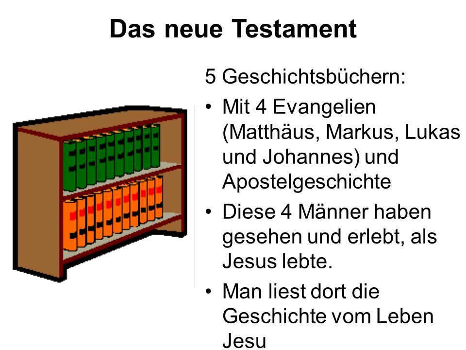 Das neue Testament 5 Geschichtsbüchern:
