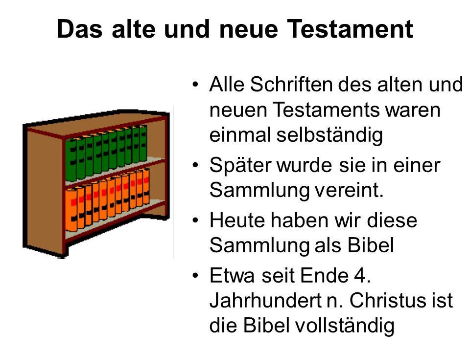 Das alte und neue Testament