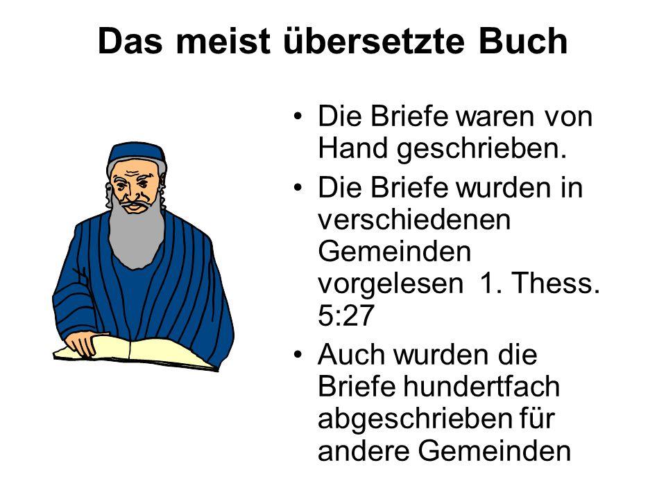 Briefe Von Sam : Die bibel ppt herunterladen