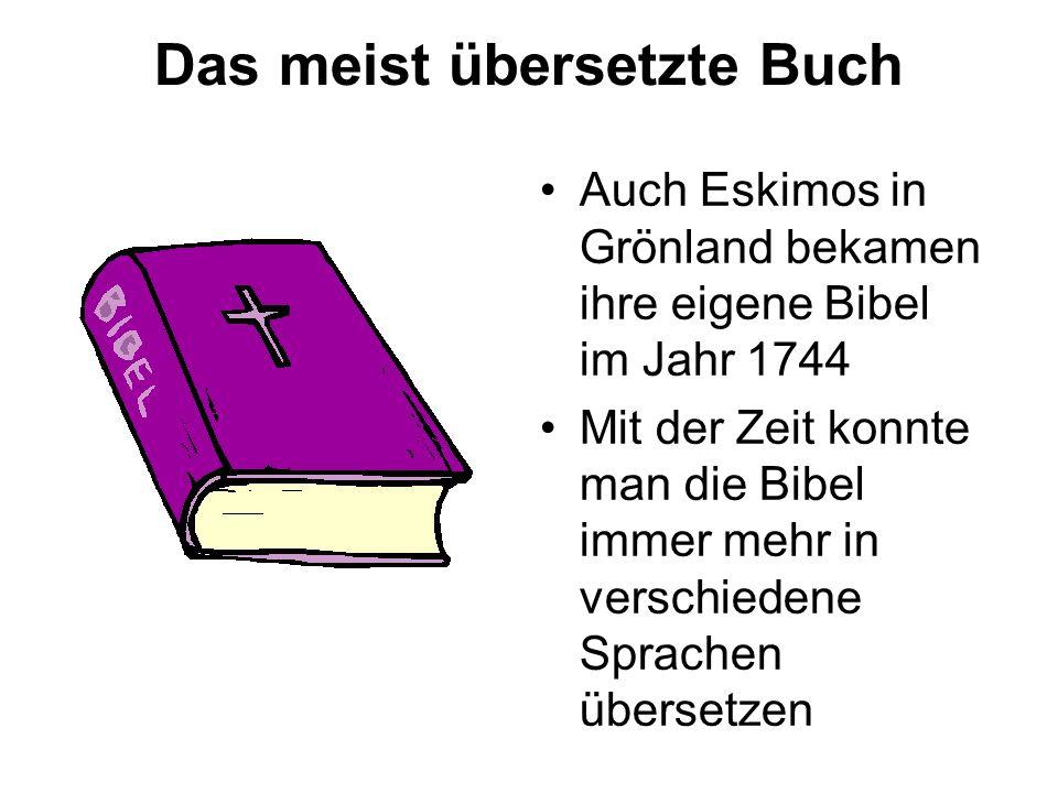 Das meist übersetzte Buch