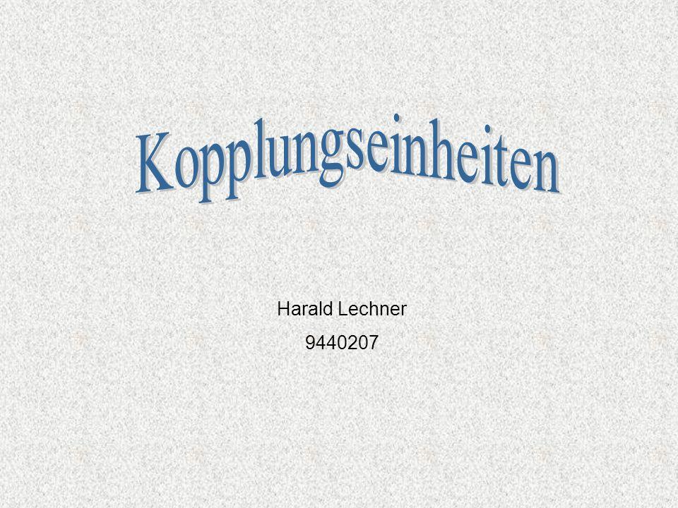 Kopplungseinheiten Harald Lechner 9440207