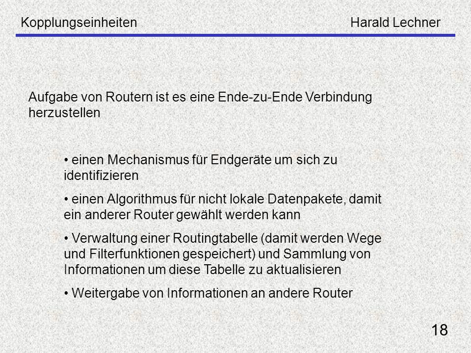 18 Kopplungseinheiten Harald Lechner