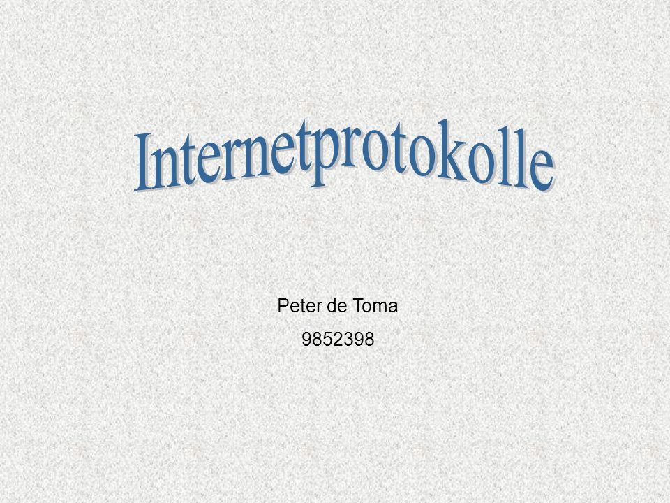 Internetprotokolle Peter de Toma 9852398