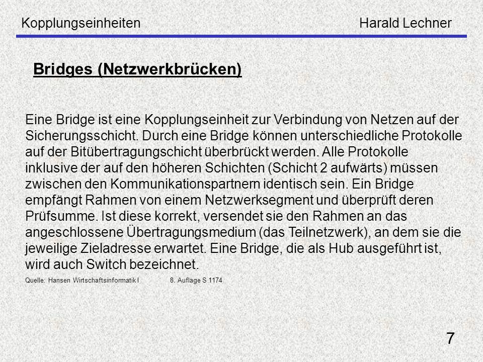 Bridges (Netzwerkbrücken)
