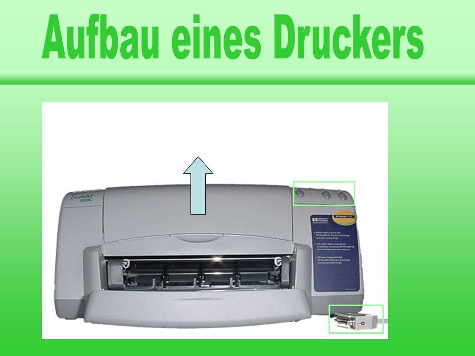 Aufbau eines Druckers Drucker A A A llgemeines rten von Druckern