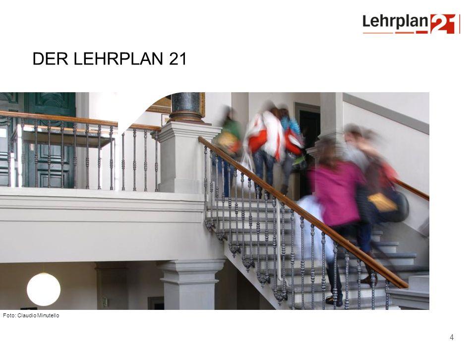 Der Lehrplan 21 Wie ist der Lehrplan aufgebaut Was ist seine Ausrichtung Hinweis auf geändertes Logo (Thurgauer Logo – Produktelogo Lehrplan 21)