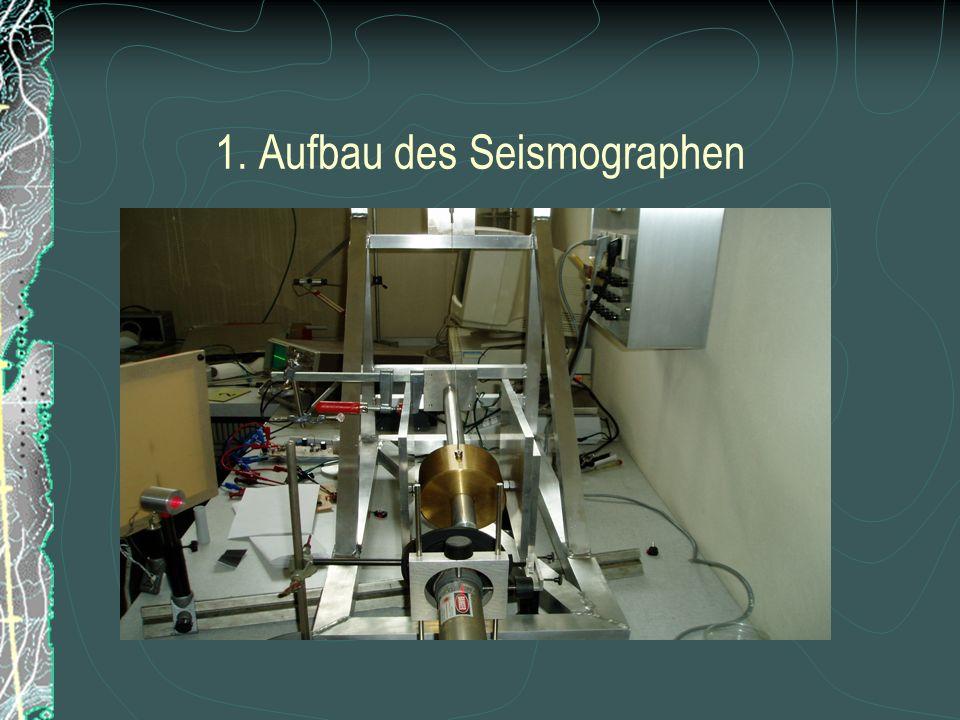 1. Aufbau des Seismographen