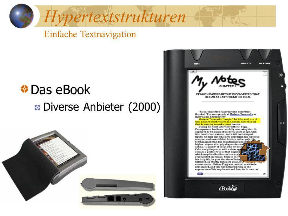 Hypertextstrukturen Das eBook Diverse Anbieter (2000)