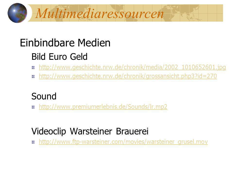 Multimediaressourcen